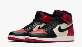 Nike Air Jordan 1 'Bred 'Toe'