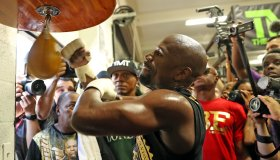 Media Day at The Mayweather Gym