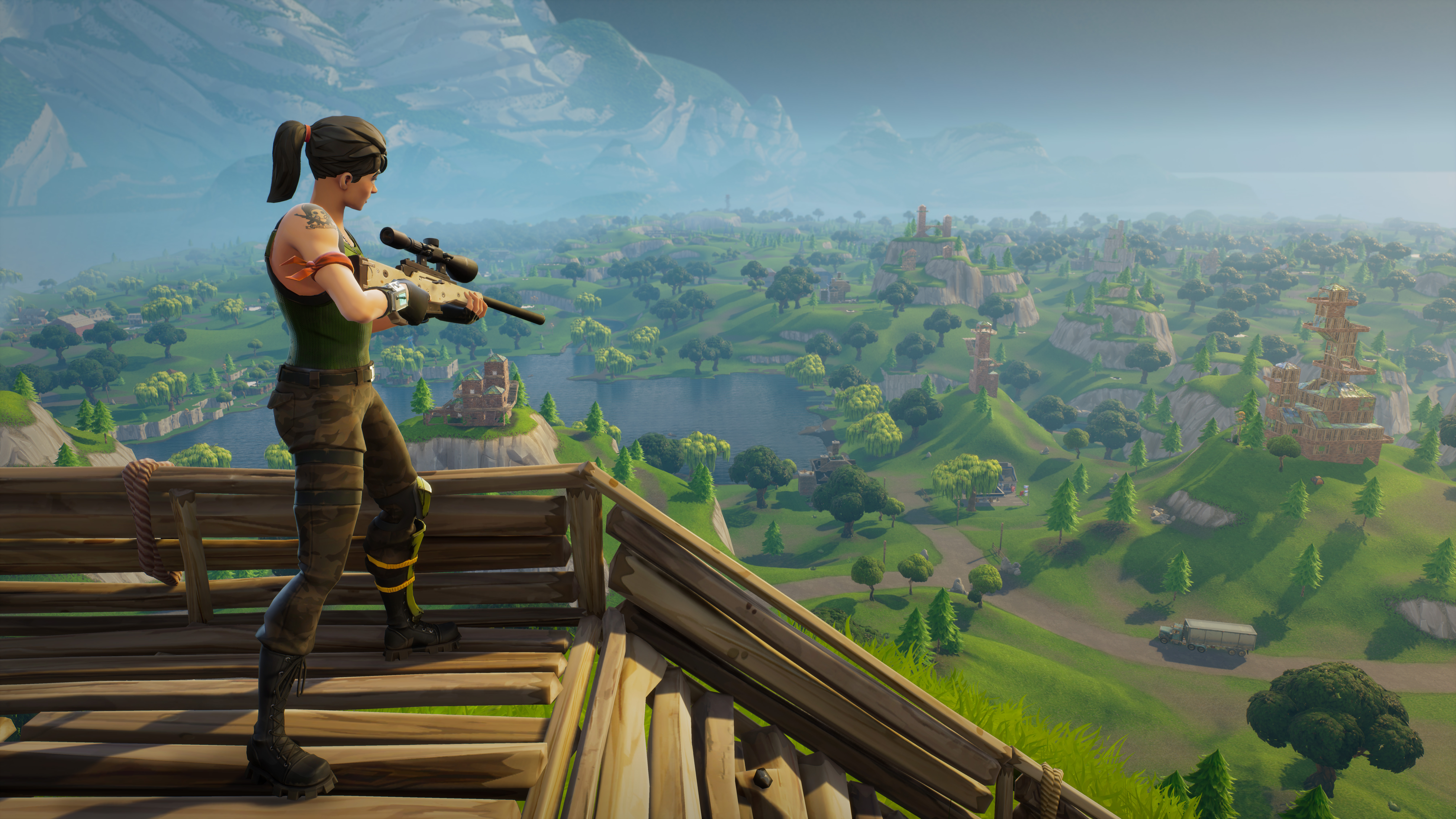 Epic Games Remove All Cop Cars From 'Fortnite'