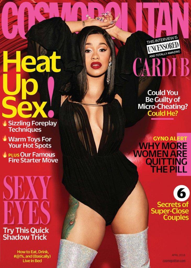 Cardi B Cosmopolitan cover