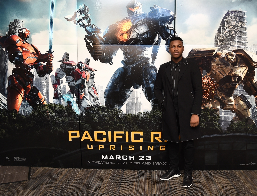 John Boyega Attends Special Screening of Pacific Rim: Uprising in NYC