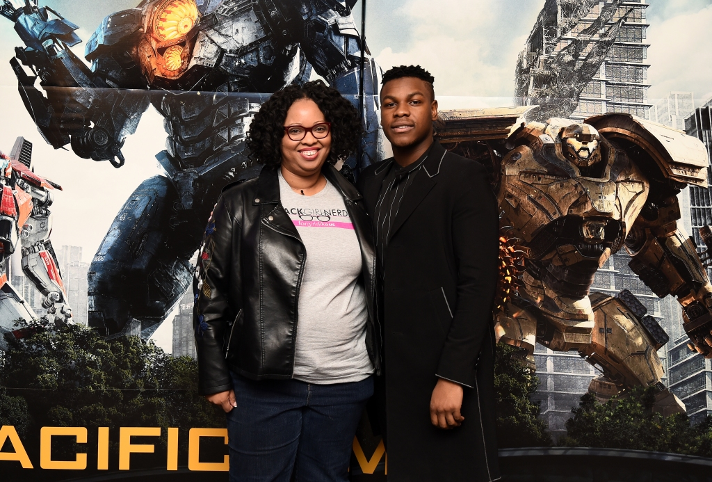 John Boyega Attends Special Screening of Pacific Rim: Uprising in NYC
