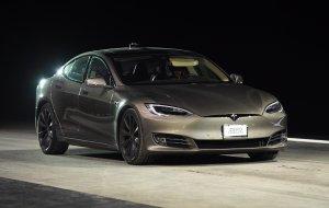 Kanye West and Kim Kardashian receive custom made Tesla