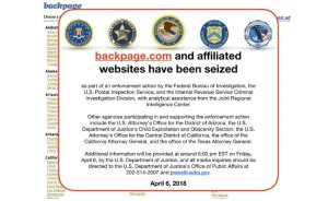 backpage shut down feds