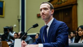 CEO of Facebook Mark Zuckerberg testifies before the House of Representatives House Energy and Commerce Committee