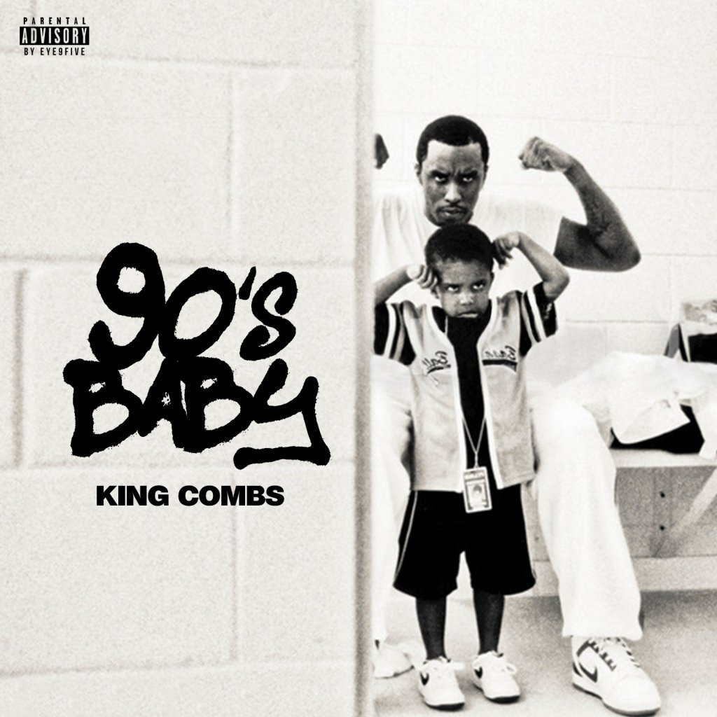 King Comb 90s Baby Artwork