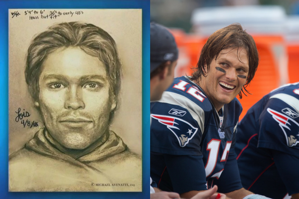 Stormy Daniels sketch & Tom Brady