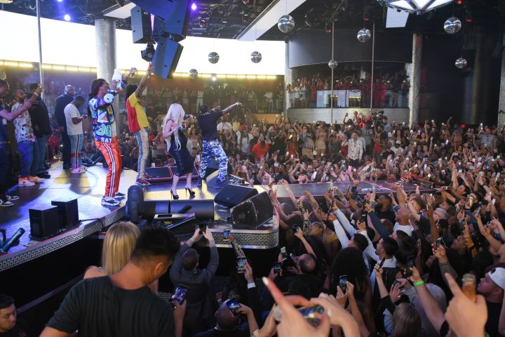 Cardi B & Migos at Drai's Nightclub 11