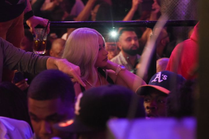 Cardi B & Migos at Drai's Nightclub 7