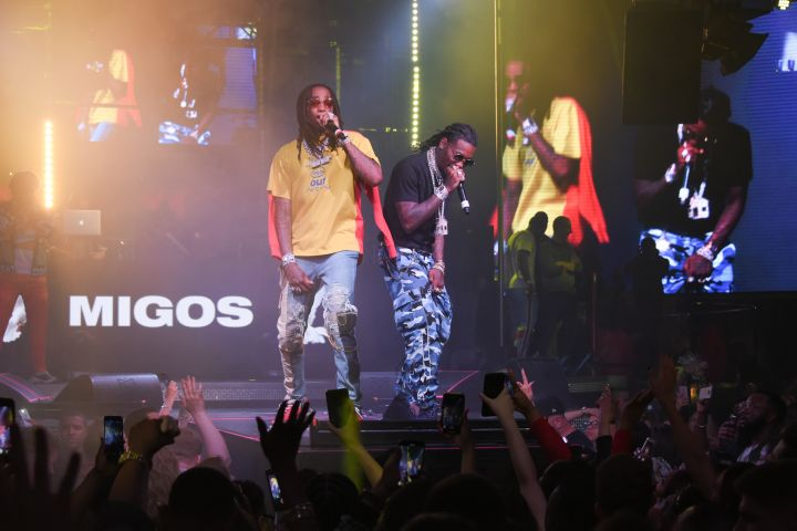 Cardi B & Migos at Drai's Nightclub 5
