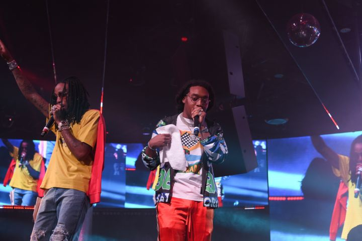 Cardi B & Migos at Drai's Nightclub 3