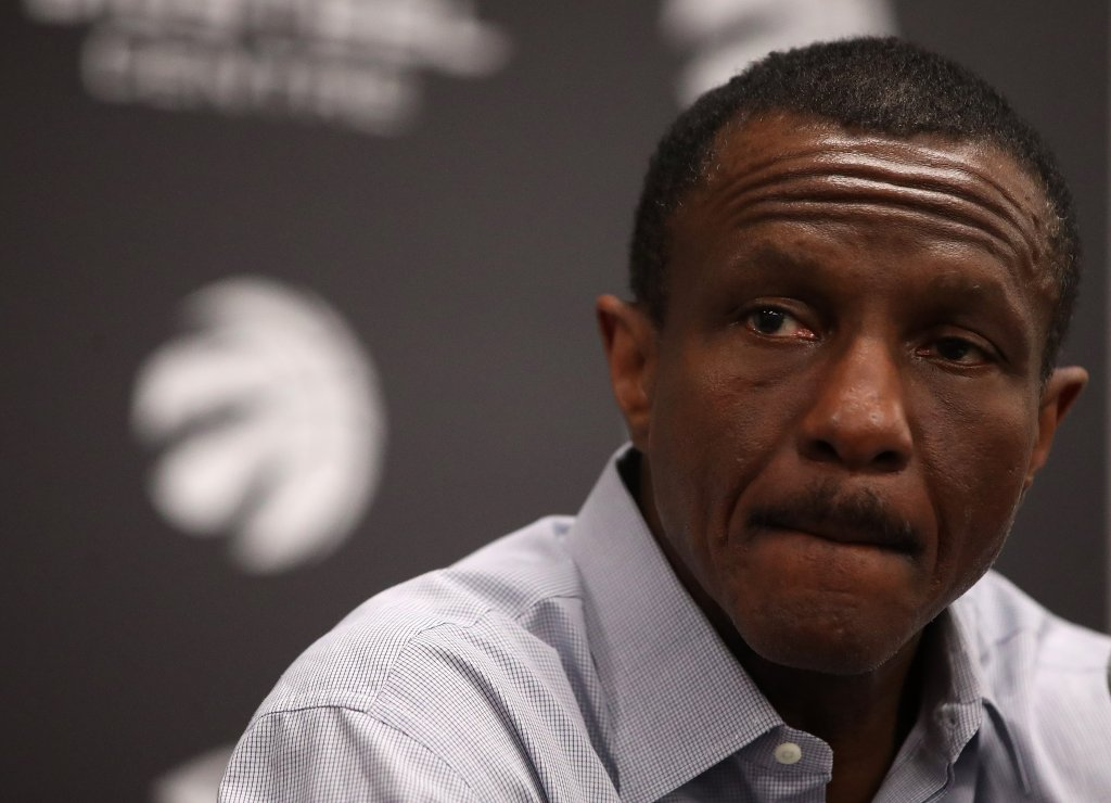 Toronto Raptors hold media availability after being eliminated by the Cleveland Cavaliers in four games