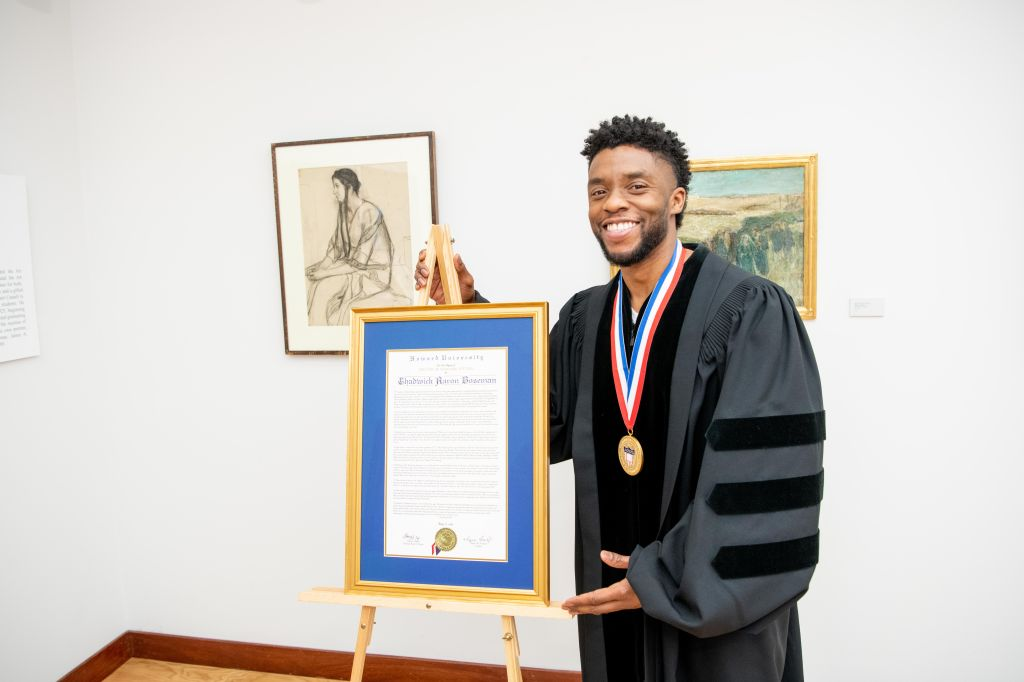 Chadwick Boseman at Howard 5