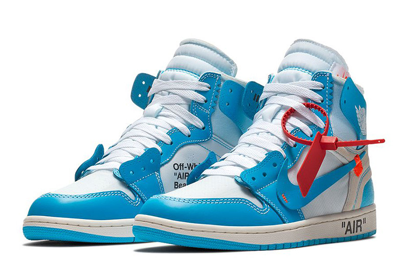 """The """"Powder Blue"""" Off-White Air Jordan 1's Are Dropping ..."""