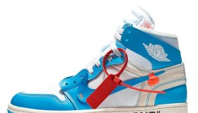 Nike Air Jordan 1 Off-White Blue