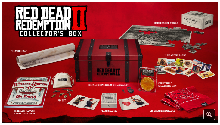 Red Dead Redemption 2 Special & Ultimate Edition Plus Collectors Box