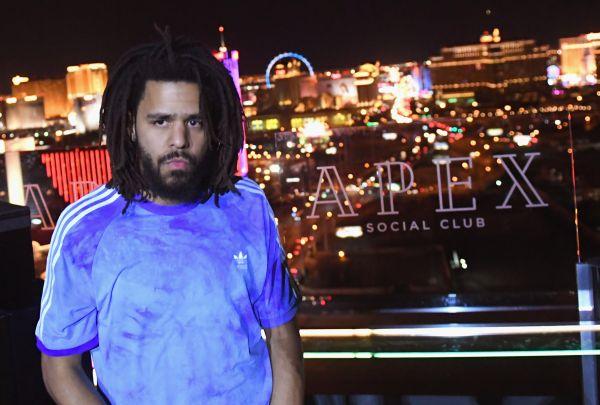 J.Cole Surprise Performance at Apex Social Club at Palms Casino Resort