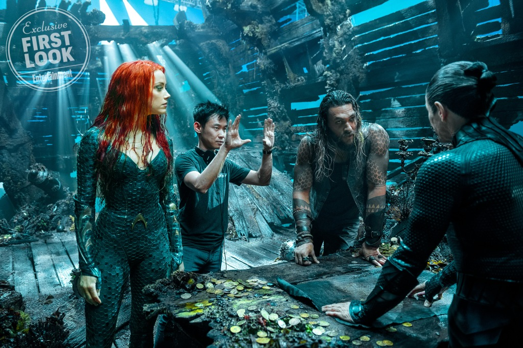 Aquaman in Entertainment Weekly