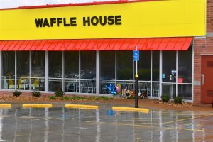 Memorial Crosses Erected At Waffle House Where Four People Were Killed By Gunman
