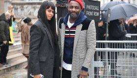 Celebrity Sightings : Paris Fashion Week Womenswear Fall/Winter 2018/2019 : Day Seven