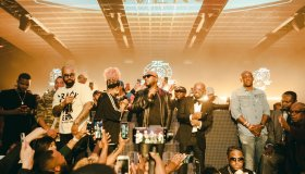 Rotimi, Kenny Burns, Da Brat, Young Jeezy and JD - So So Def 25th Anniversary Party