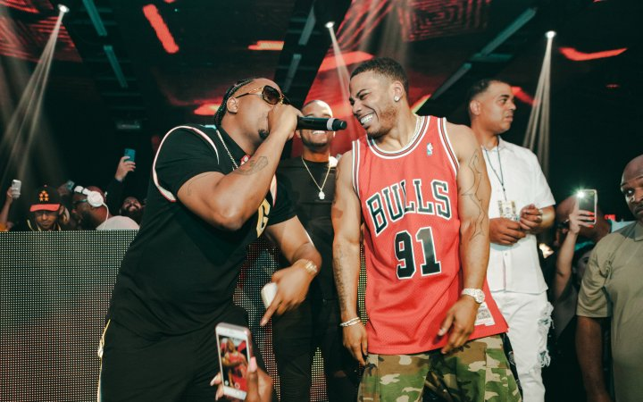 J-Kwo & Nelly - So So Def 25th Anniversary Party