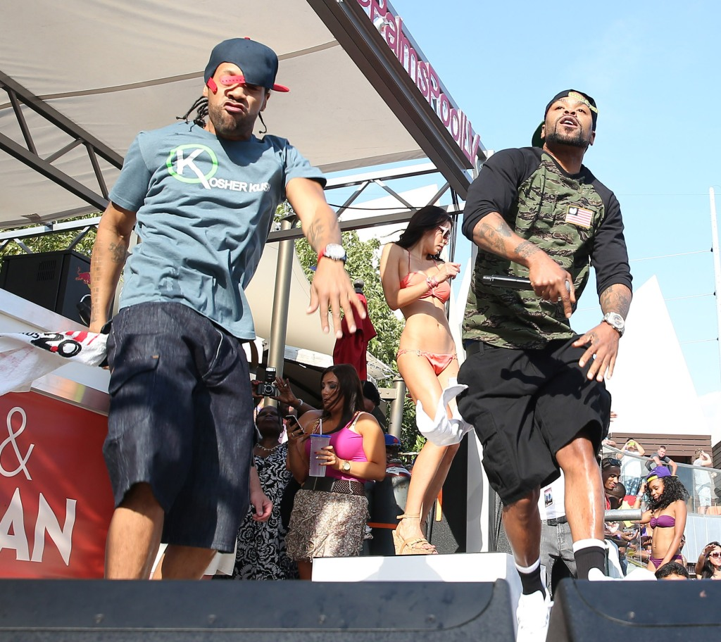Redman and Method Man host Ditch Weekend at Palms Pool