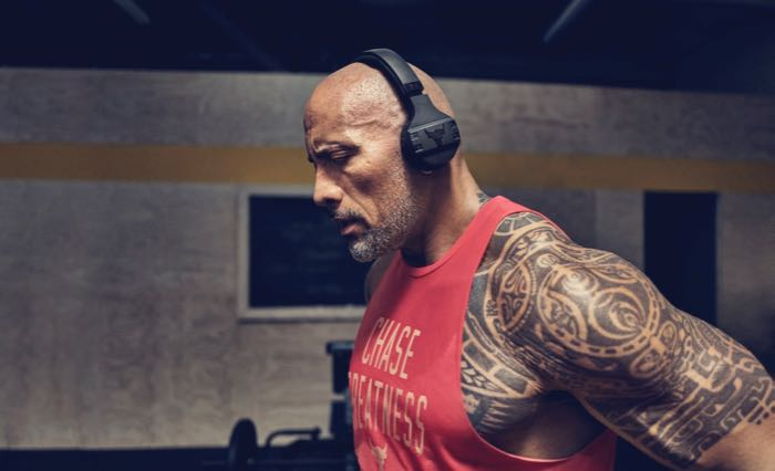 The Rock Under Armour JBL