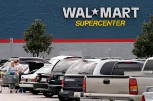 Economy USA: chain-store of WAL MART near Orlando, Florida