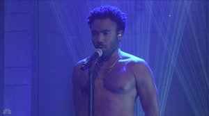 Donald Glover with musical guest Childish Gambino hosts the 43rd season episode 19 NBC's 'Saturday Night Live'