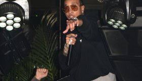 Tyga performs at Club B38