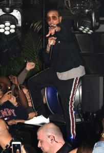 Tyga performs at Club B38