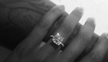Pusha T & Virginia Williams engagement
