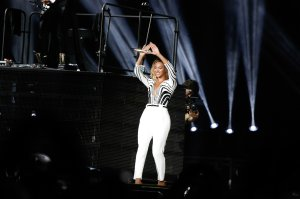 Beyonce performs at Made in America