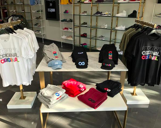 UP NYC sneaker boutique