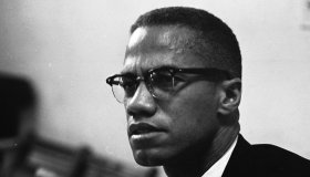Malcolm X At The Lenox Hotel