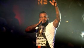 Rapper The Game Performs at Drais