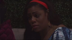 Omarosa Manigault during an appearance on CBS' 'Celebrity Big Brother.'