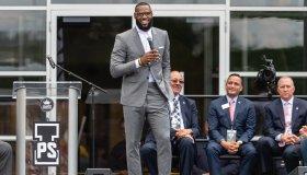 I Promise School Grand Opening Celebration With LeBron James