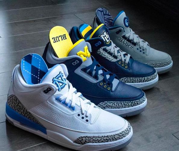 Air Jordan 3 PE's