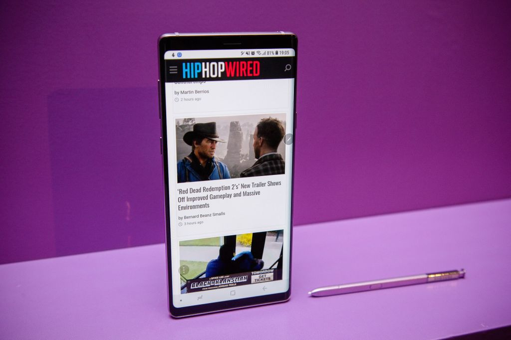 Samsung Galaxy Note 9 Is Now Available