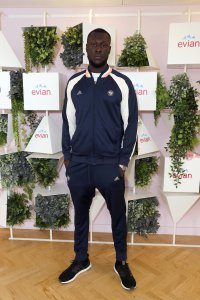 VIPs attend the Evian Live Young Suite at the Wimbledon 2018 Championships