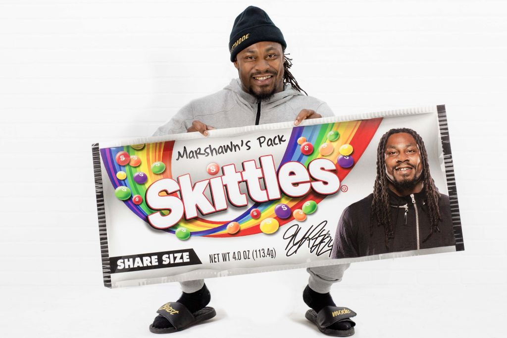 Marshawn Lynch Skittles
