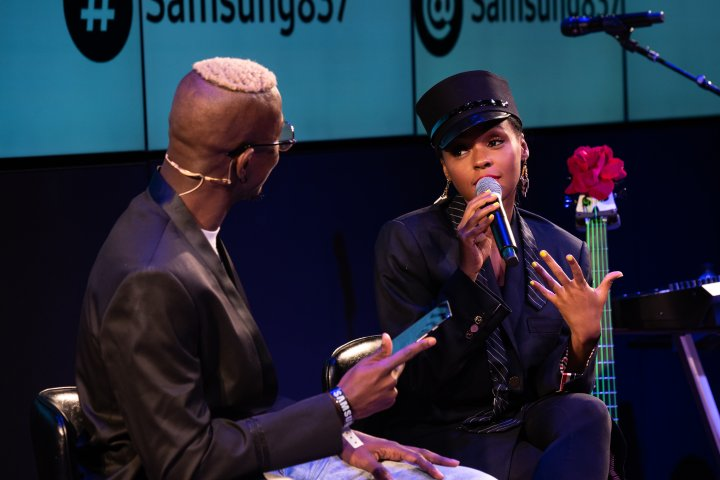 An Evening with Janelle Monáe at Samsung 837 for Note9 Launch