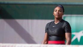 2018 French Open Tennis Tournament. Roland Garros.