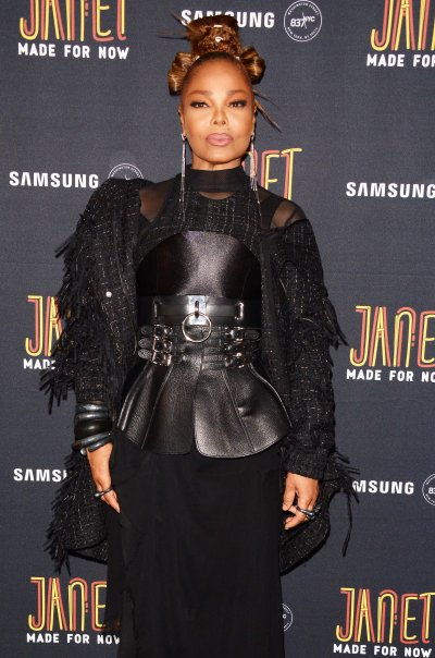 Janet Jackson and Daddy Yankee attend New Single Party