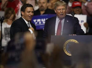 Donald Trump Holds Make America Great Again Rally In Tampa