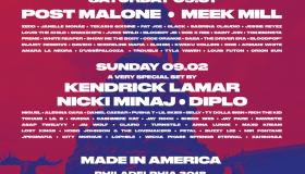 Made In America Festival Flier 2018