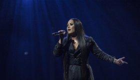 Demi Lovato performs at London's O2 Arena