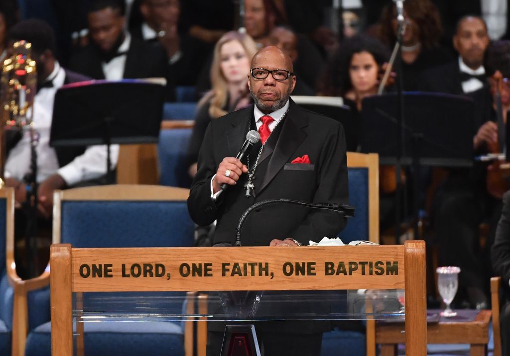 Rev. Jasper Williams Jr.'s Eulogy Not A Hit With Aretha Franklin's Family